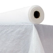 """Plastic Table Cover, 40"""" x 300ft, White"""