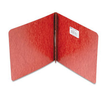 """Pressboard Report Cover With Tyvek Reinforced Hinge, Two-Piece Prong Fastener, 2"""" Capacity, 8.5 X 8.5, Red/red"""