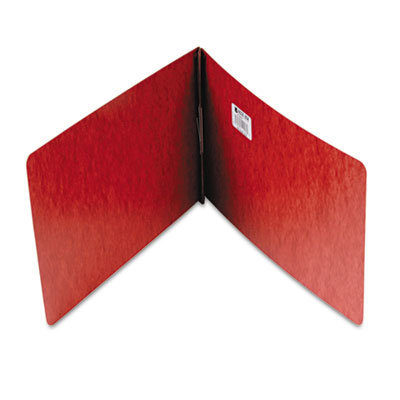 """View larger image of Pressboard Report Cover, Prong Clip, Legal, 2"""" Capacity, Red"""