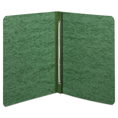 """View larger image of Pressboard Report Cover, Prong Clip, Letter, 3"""" Capacity, Dark Green"""