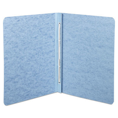 """View larger image of Pressboard Report Cover, Prong Clip, Letter, 3"""" Capacity, Light Blue"""