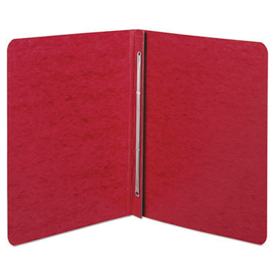 """View larger image of Pressboard Report Cover, Prong Clip, Letter, 3"""" Capacity, Red"""