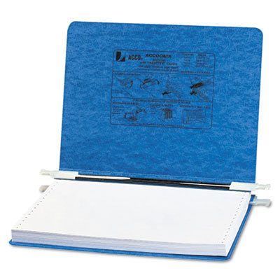 """View larger image of PRESSTEX Covers with Storage Hooks, 2 Posts, 6"""" Capacity, 12 x 8.5, Light Blue"""