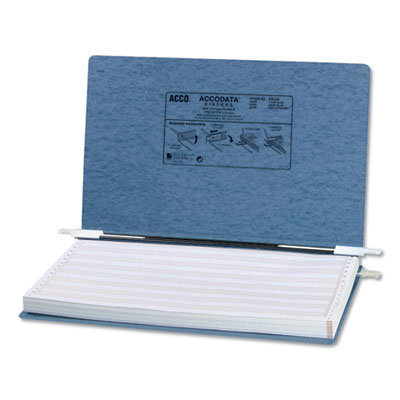 """View larger image of PRESSTEX Covers with Storage Hooks, 2 Posts, 6"""" Capacity, 14.88 x 8.5, Light Blue"""