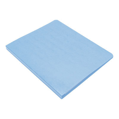"""View larger image of PRESSTEX Grip Binder, Clamp System, 0.63"""" Capacity, 11 x 8.5, Light Blue"""