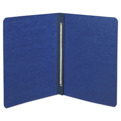 """View larger image of Presstex Report Cover, Side Bound, Prong Clip, Letter, 3"""" Cap, Dark Blue"""