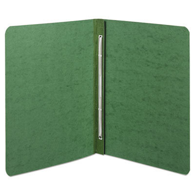 """View larger image of Presstex Report Cover, Side Bound, Prong Clip, Letter, 3"""" Cap, Dark Green"""