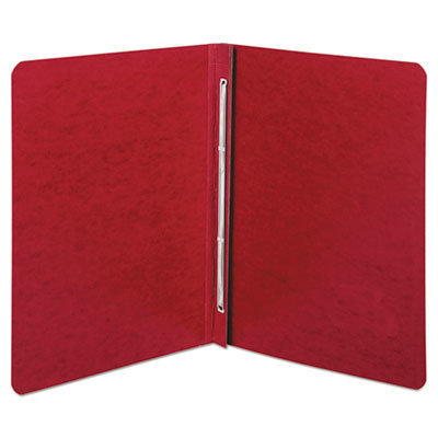 """View larger image of Presstex Report Cover, Side Bound, Prong Clip, Letter, 3"""" Cap, Executive Red"""