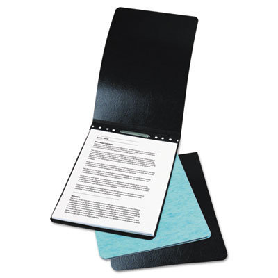 """View larger image of Presstex Report Cover, Top Bound, Prong Clip, Legal, 2"""" Cap, Light Blue"""
