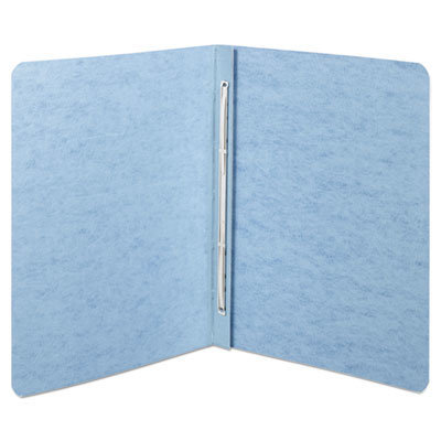 """View larger image of Presstex Report Cover, Top Bound, Prong Clip, Letter, 2"""" Cap, Light Blue"""