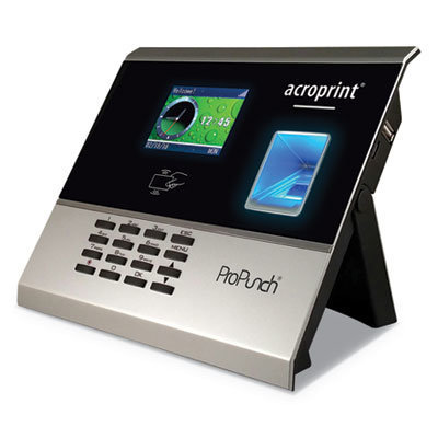 View larger image of ProPunch Biometric Add-On Terminal, Automatic, 3000 Employees, Black