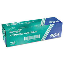 """PVC Film Roll with Cutter Box, 18"""" x 1000 ft, Clear"""