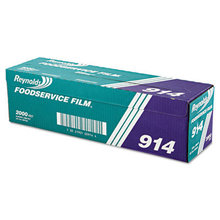 """PVC Film Roll with Cutter Box, 18"""" x 2000 ft, Clear"""