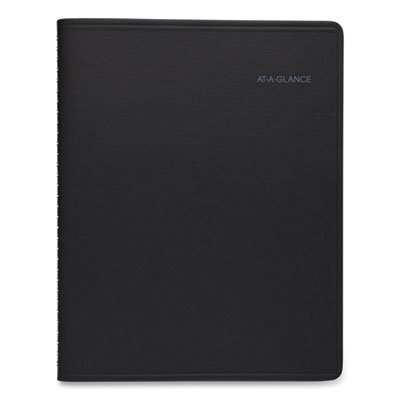 View larger image of QuickNotes Monthly Planner, 11 x 8.25, Black, 2021