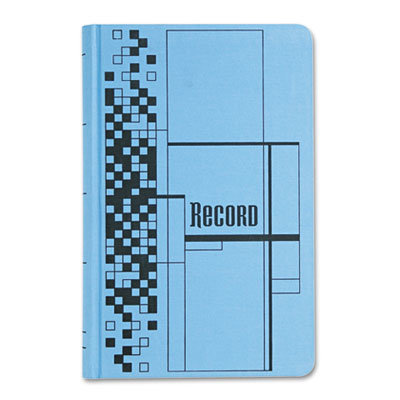 View larger image of Record Ledger Book, Blue Cloth Cover, 500 7 1/4 x 11 3/4 Pages