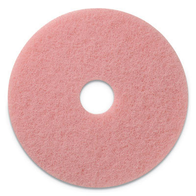 """View larger image of Remover Burnishing Pads, 20"""" Diameter, Pink, 5/CT"""