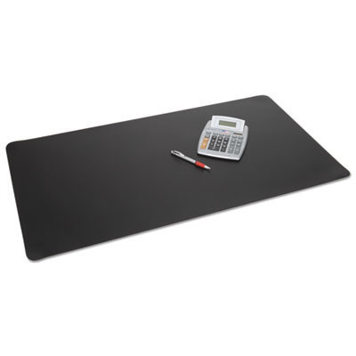View larger image of Rhinolin II Desk Pad with Antimicrobial Product Protection, 24 x 17, Black