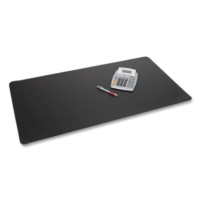 View larger image of Rhinolin II Desk Pad with Antimicrobial Product Protection, 36 x 20, Black