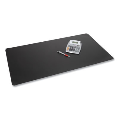 View larger image of Rhinolin II Desk Pad with Antimicrobial Product Protection, 36 x 24, Black