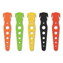 """Safety Cutter, 5.75"""", Assorted, 5/Pack"""