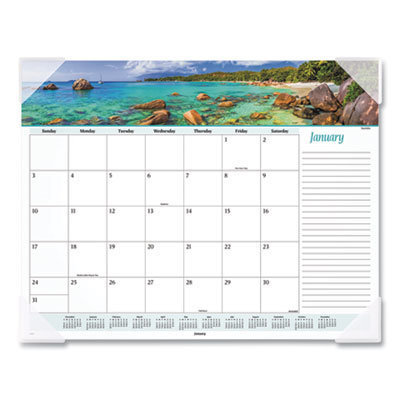 View larger image of Seascape Panoramic Desk Pad, 22 x 17, 2021