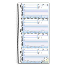 Self-Stick Telephone Message Book, 5 1/2 x 2 3/4, Two-Part, 400 Sets/Book