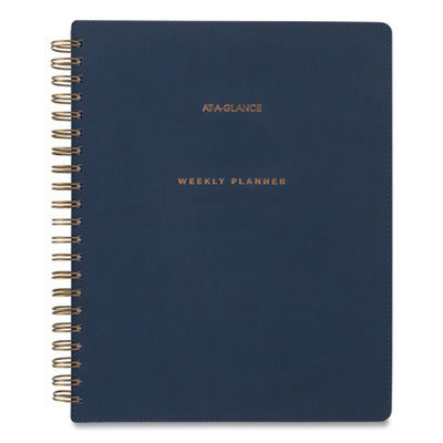 View larger image of Signature Collection Firenze Navy Weekly/Monthly Planner, 11 x 8.5, 2021-2022
