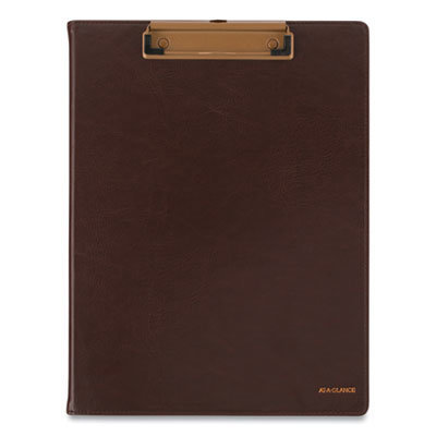 View larger image of Signature Collection Monthly Clipfolio, 11 x 8, Distressed Brown, 2021