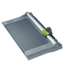 """SmartCut Rotary Dial-A-Blade Trimmer, 10 Sheets, Metal Base, 18"""" x 11"""""""