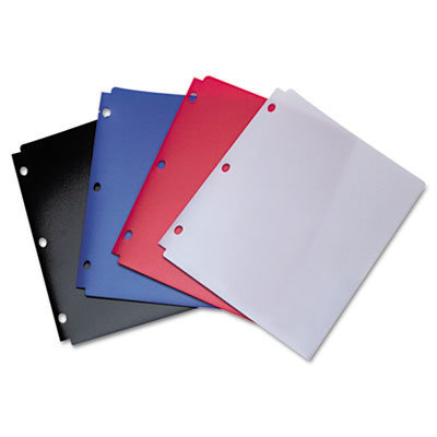 View larger image of Snapper Twin Pocket Poly Folder, 8-1/2 x 11, Assorted Colors