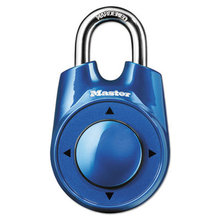 """Speed Dial Set-Your-Own Combination Lock, 2"""" Wide, Assorted"""