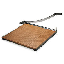 """Square Commercial Grade Wood Base Guillotine Trimmer, 20 Sheets, 24"""" x 24"""""""