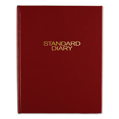 View larger image of Standard Diary Daily Diary, Recycled, Red, 9.44 x 7.5, 2021