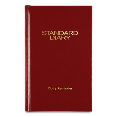 View larger image of Standard Diary Recycled Daily Reminder, Red, 6.63 x 4.13, 2021