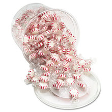 Starlight Mints, Peppermint Hard Candy, Individual Wrapped, 2 lb Resealable Tub
