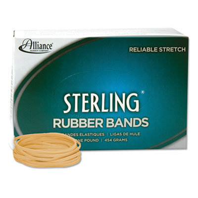 """View larger image of Sterling Rubber Bands, Size 33, 0.03"""" Gauge, Crepe, 1 lb Box, 850/Box"""