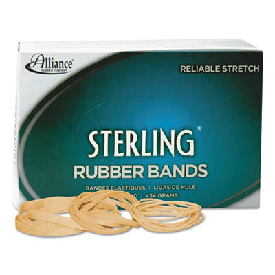 """View larger image of Sterling Rubber Bands, Size 62, 0.03"""" Gauge, Crepe, 1 lb Box, 600/Box"""