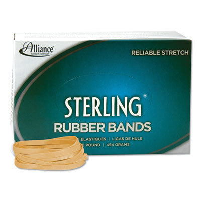 """View larger image of Sterling Rubber Bands, Size 64, 0.03"""" Gauge, Crepe, 1 lb Box, 425/Box"""