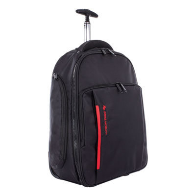 """View larger image of Stride Business Backpack On Wheels, For Laptops 15.6"""", 10"""" x 10"""" x 21.5"""", Black"""