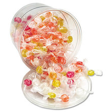 Sugar-Free Hard Candy Assortment, Individually Wrapped, 160-Pieces/Tub