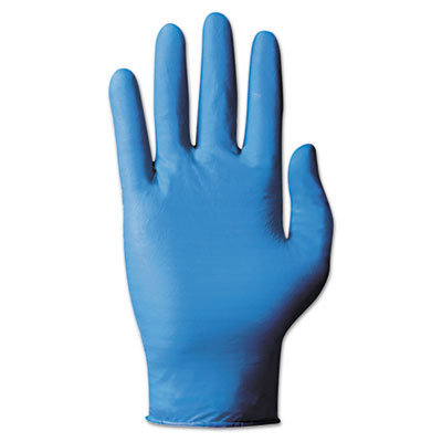 View larger image of TNT Blue Single-Use Gloves, Large