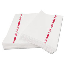 Tuff-Job S900 Antimicrobial Foodservice Towels, White/Red, 12 x 24, 150/CT