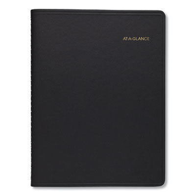 View larger image of Two-Person Group Daily Appointment Book, 11 x 8, Black, 2021