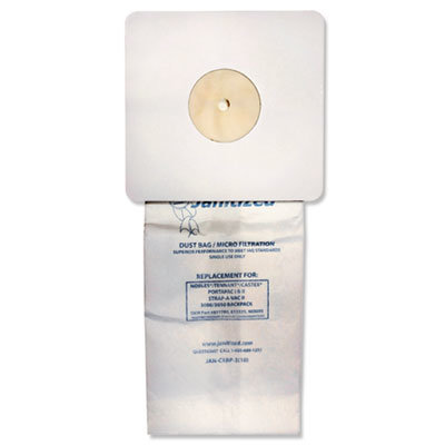 View larger image of Vacuum Filter Bags Designed to Fit Nobles Portapac/Tennant, 100/CT