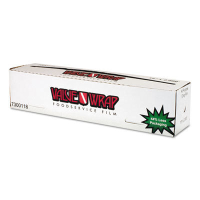 """View larger image of ValueWrap Foodservice Film, 18"""" x 2000 ft"""