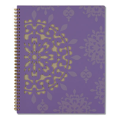 View larger image of Vienna Weekly/Monthly Appointment Book, 11 x 8.5, Purple, 2021