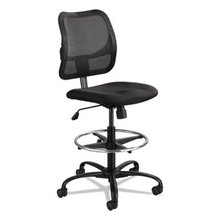 """Vue Series Mesh Extended-Height Chair, 33"""" Seat Height, Supports up to 250 lbs., Black Seat/Black Back, Black Base"""
