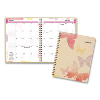 View larger image of Watercolors Monthly Planner, 8.75 x 7, Watercolors, 2021-2022