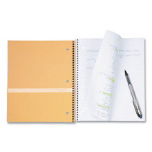 Wirebound Notebook, 3 Subjects, Wide/Legal Rule, Randomly Assorted Color Covers, 10.5 x 8, 200 Sheets