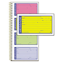 Wirebound Telephone Message Book, Two-Part Carbonless, 200 Forms